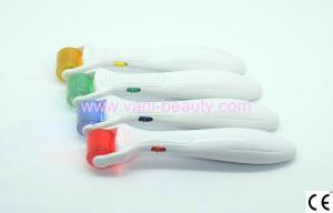 Changeable Head Titanium Alloy Led Derma Roller Microneedling